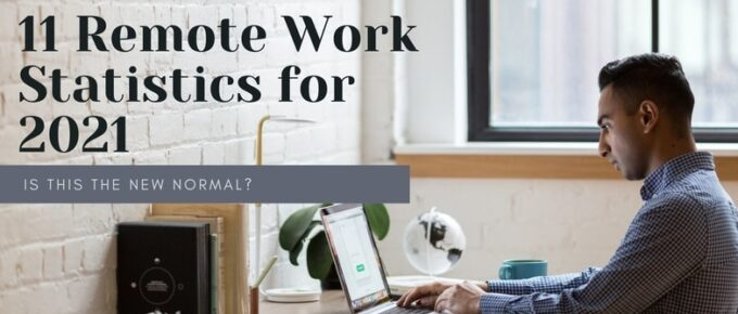 work from home statistics article banner